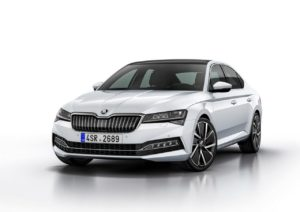 skoda superb phev facelift